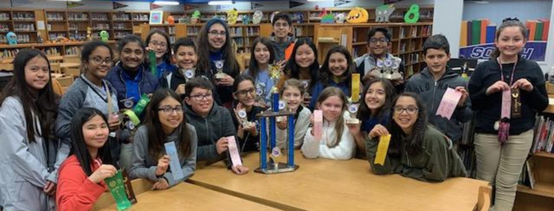 6th Grade wins first at UIL Competition