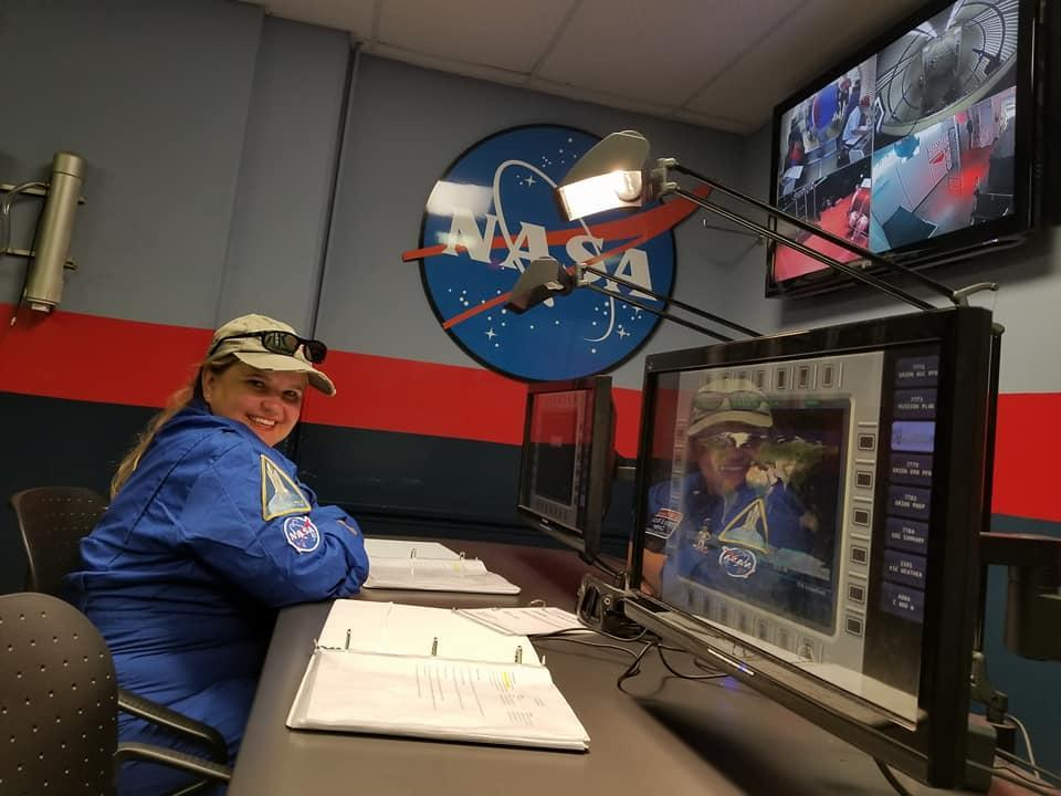 Mrs. Epps, your Librarian, went to Space Camp for Educators!