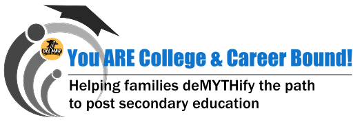 Image of You ARE College & Career Bound graphic for parent education talk