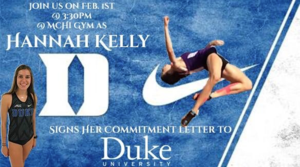 Hannah Kelly to sign with Duke