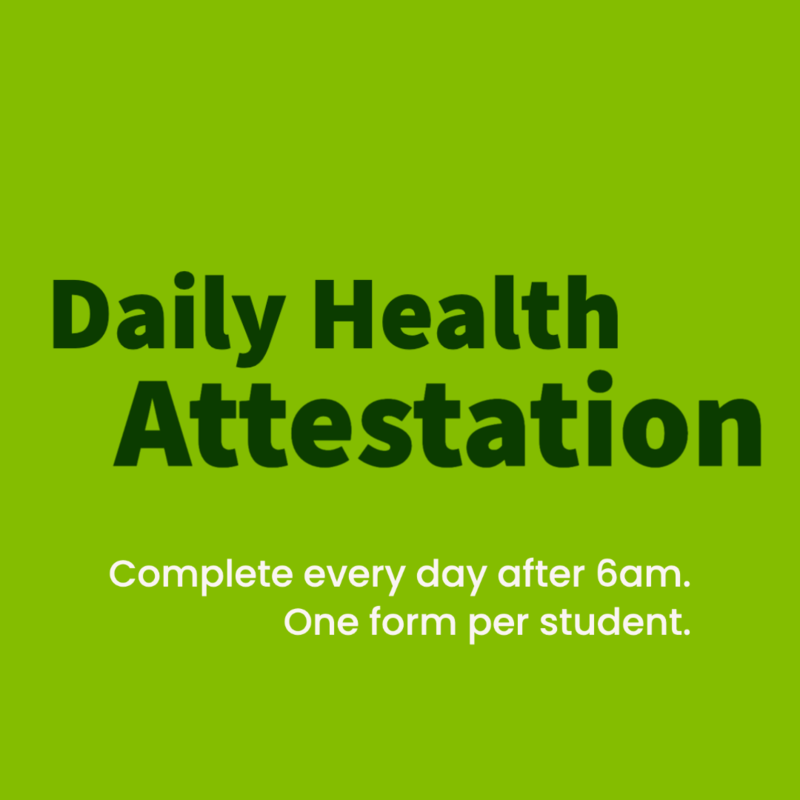 Daily Health Attestation Forms Featured Photo