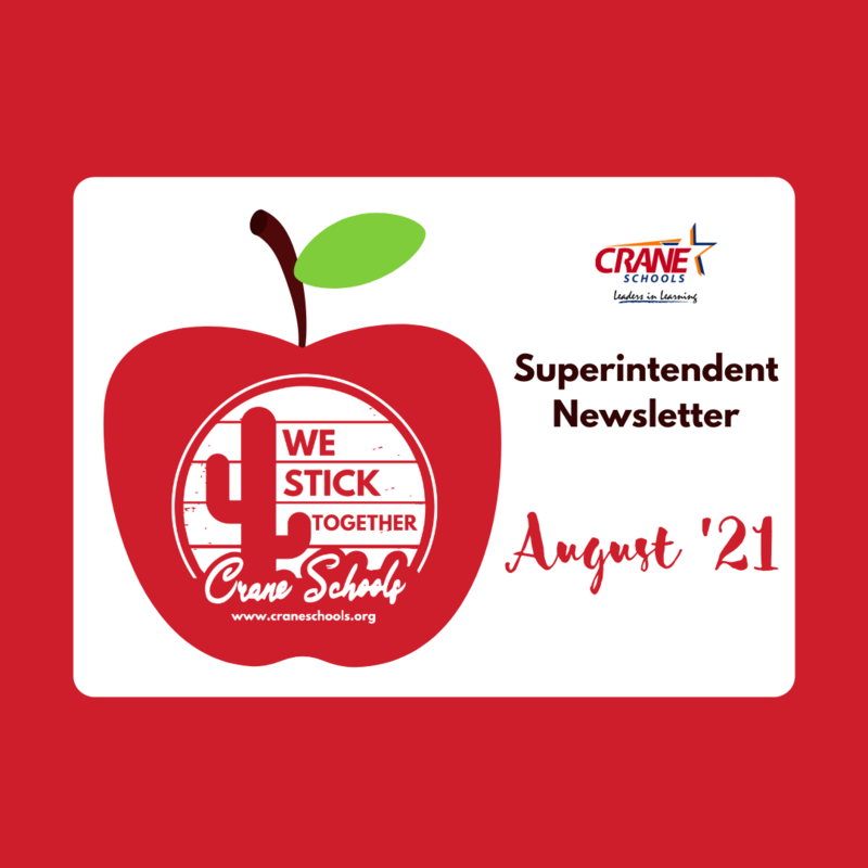 Superintendent Newsletter - August 2021 Featured Photo