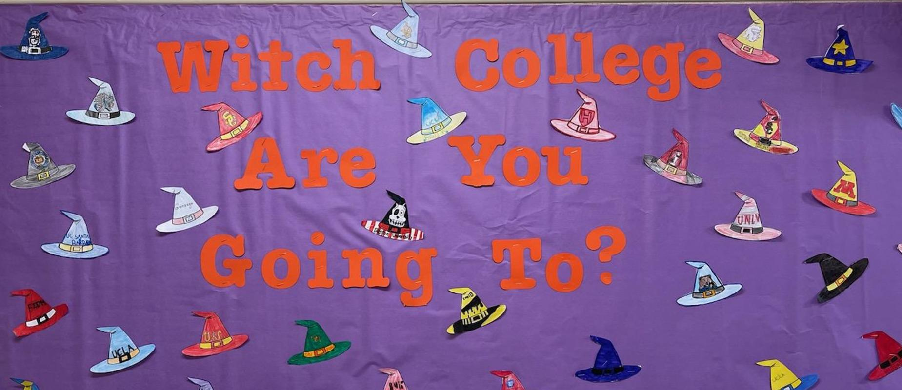 witch college decorations