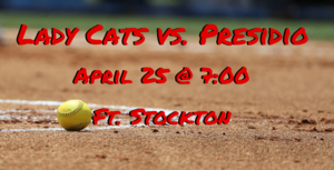 Lady Cats Playoff Softball
