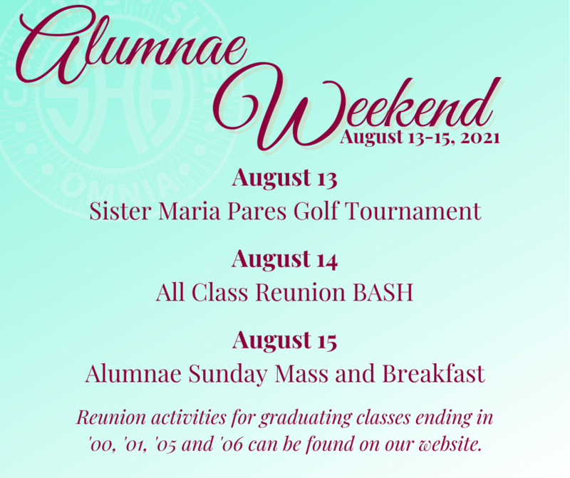 Alumnae Weekend Activities