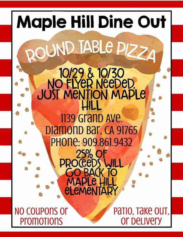 Round Table Fundraiser on 10/29 & 10/30 Featured Photo