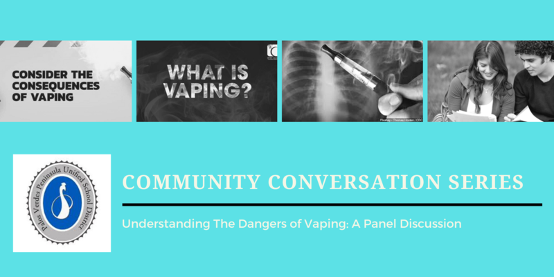 Community Conversations Series- Understanding The Dangers of Vaping Thumbnail Image