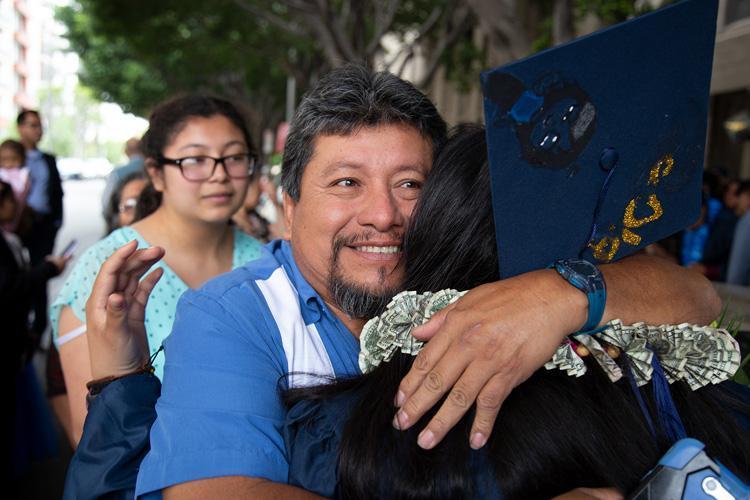 Proud Parent of Central City Value graduate