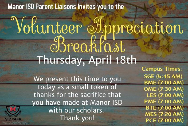 Volunteer Appreciation! Thumbnail Image