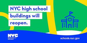NYC high school buildings to reopen