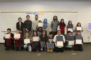 Students receive participation awards