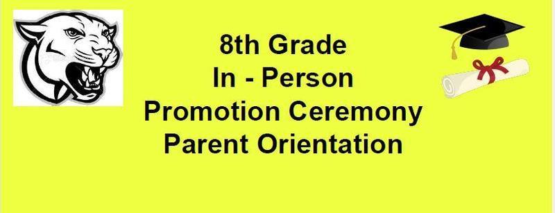 8th Grade Promo Info