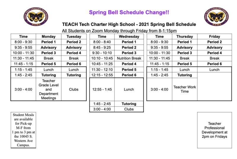 Bell Schedule Change Featured Photo