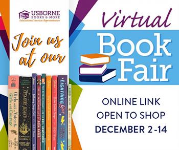 Usborne Virtual Book Fair Now Open Through December 14 Featured Photo