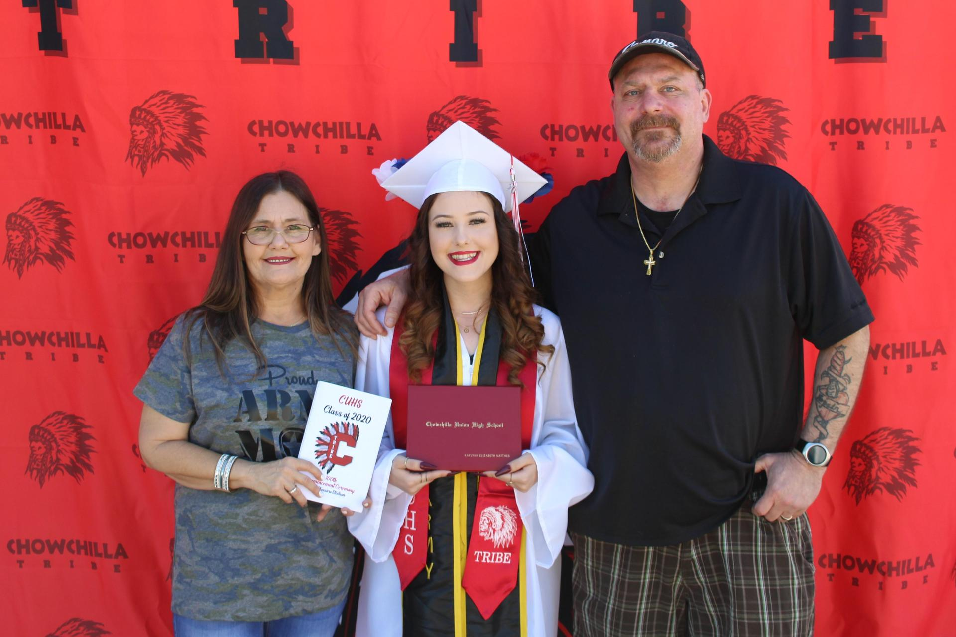 Kaylynn Matthes and family