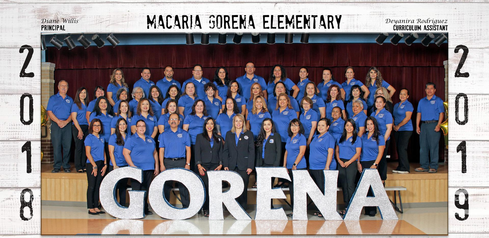 picture of Gorena faculty