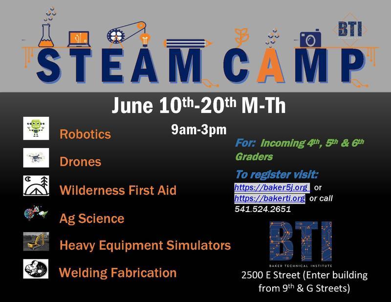 BTI Summer STEAM Camp Featured Photo