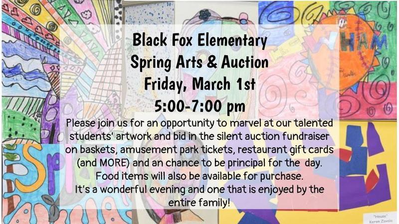 Black Fox Elementary Spring Arts & Auction