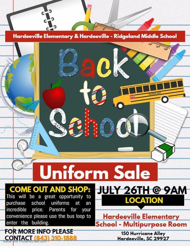 Back to School Uniform Sale