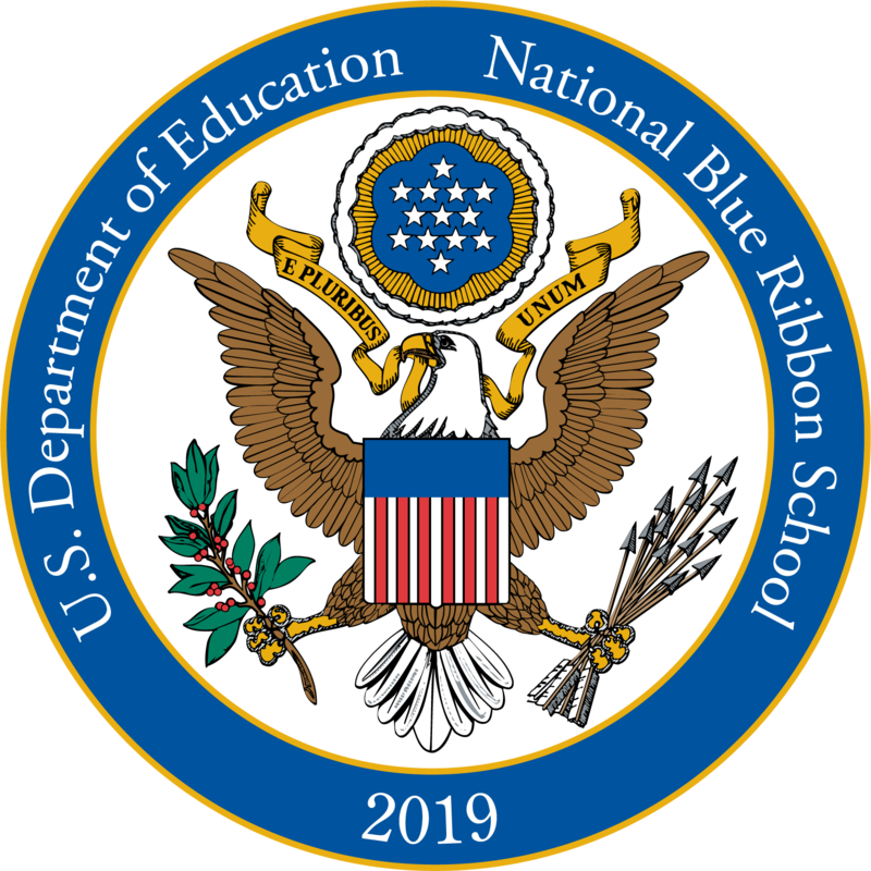 2019 National Blue Ribbon School of Excellence! Featured Photo