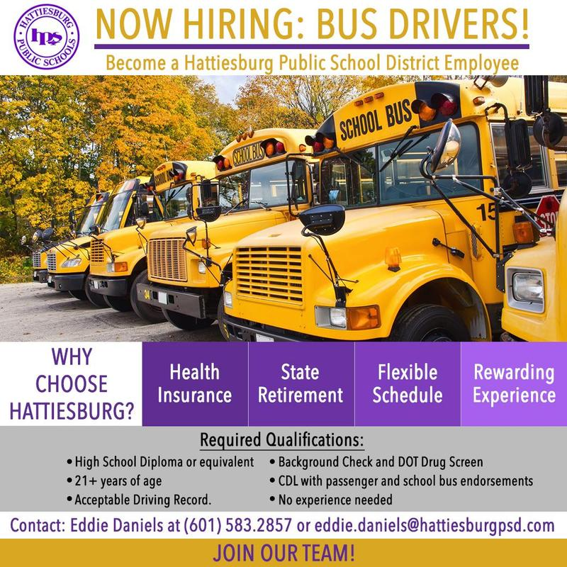 Now Hiring: Bus Drivers Featured Photo