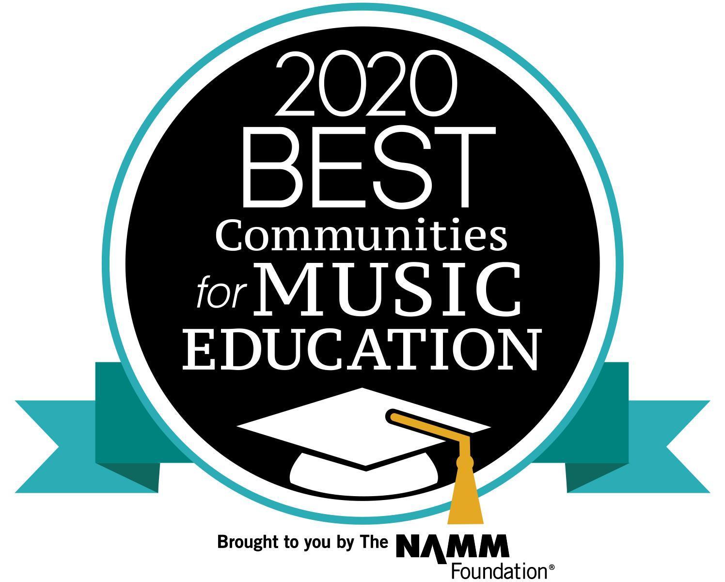 2020 NAMM Best Communities for Music Education