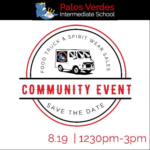 PVIS Community Event- Food Truck & Spirit Wear Sales!! Thumbnail Image