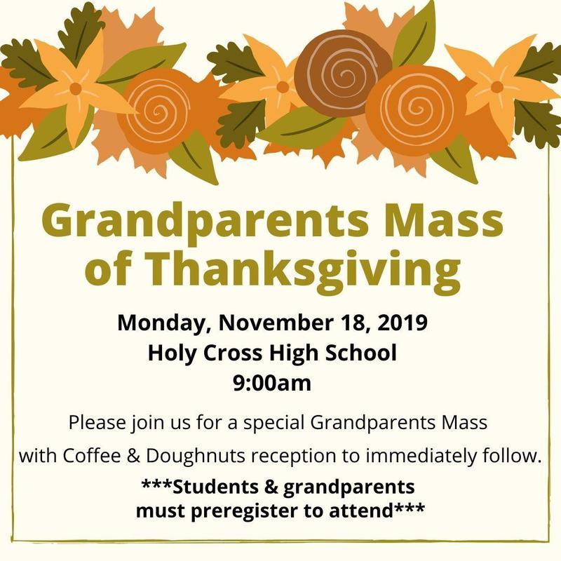 Grandparents Thanksgiving Mass Featured Photo