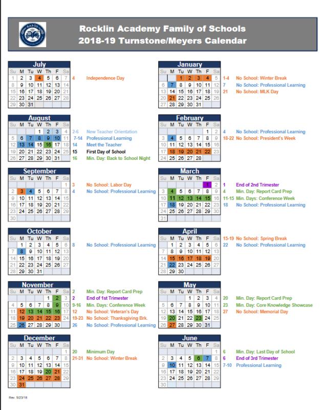 School Calendar thumbnail