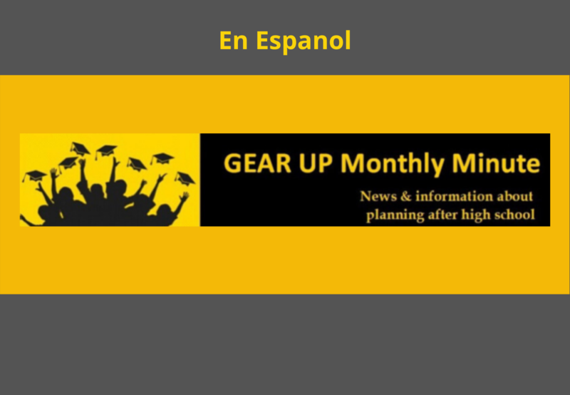 April Gear Up Newsletter in Spanish Thumbnail Image