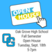 Fall Open House Sept 18 5-7pm