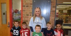 Carter and kids