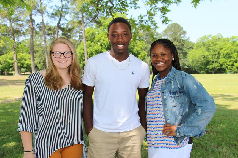 Pictured are the 2019 RYLA delegates from B-L High School.  From left to right are Carley Muilenburg, Ke'Shoun Williams and Kiara Quattlebaum.  Not pictured is Caden Bryant.