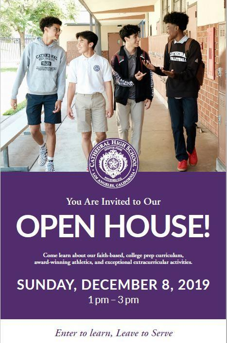 Sunday, December 08, 2019: OPEN HOUSE Thumbnail Image