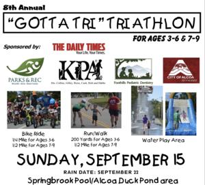 Gotta Tri Triathlon