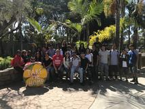 Nueva Students and staff @ Santa Barbara Zoo 10-11-17