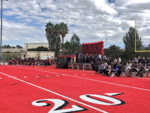 Valley View High School Red Football Stadium Ribbon Cutting Ceremony