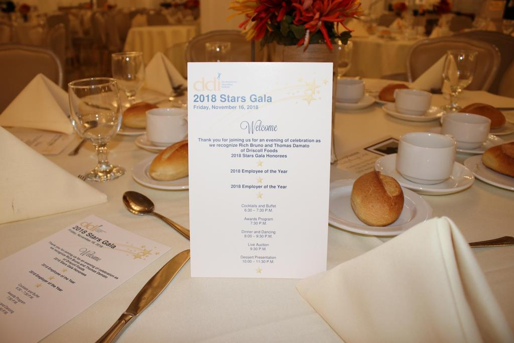Table placement at Villa Lombardi's