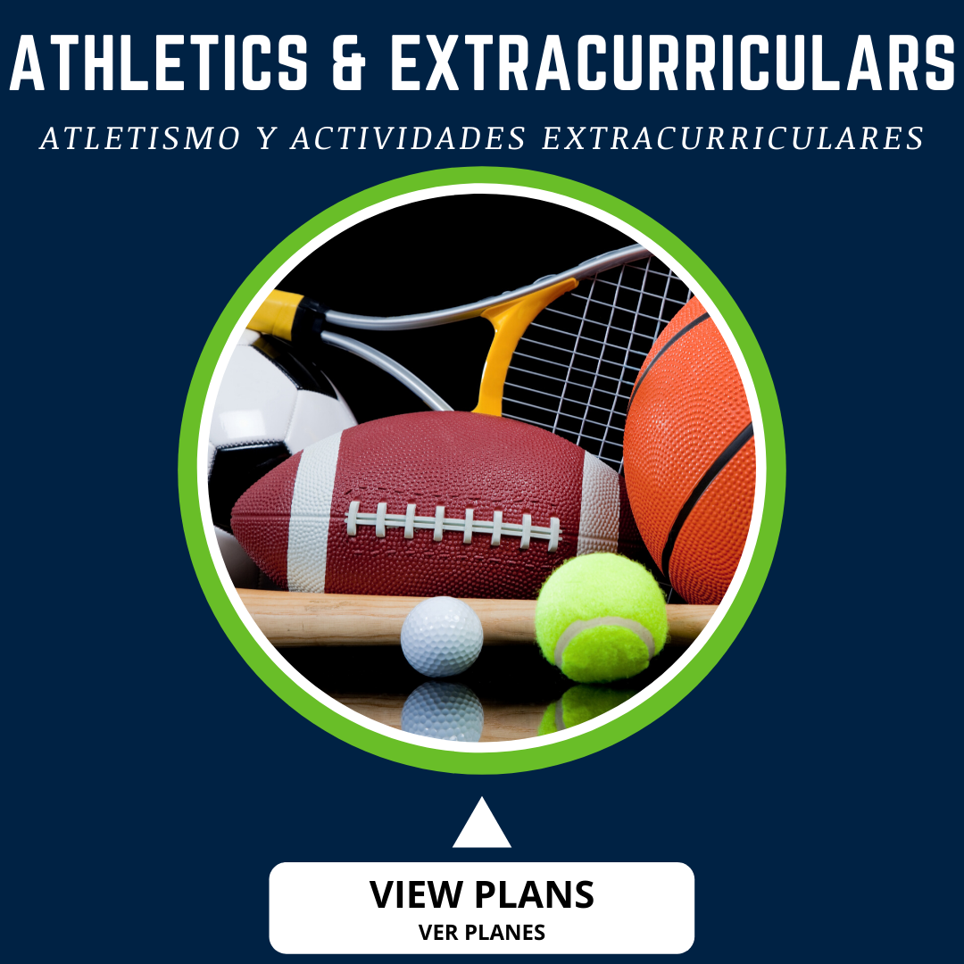 button for athletics and extracurriculars plan
