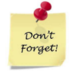Don't forget - Minimum Day March 15