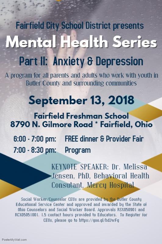 Mental Health flyer
