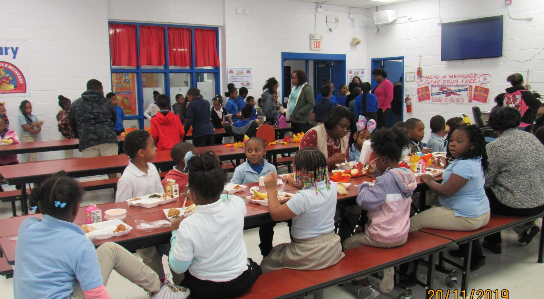 Thanksgiving Luncheon with Community and Parents
