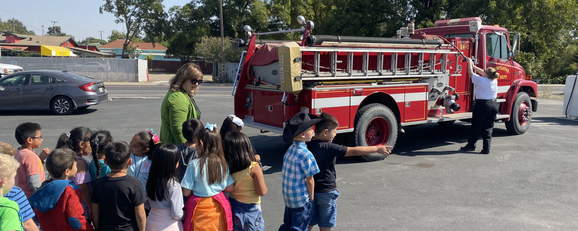 Field trip to the Farmington Fire Department