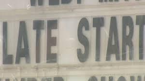 late start sign