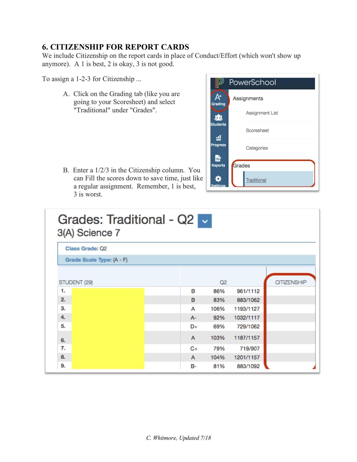 gradebook help 4