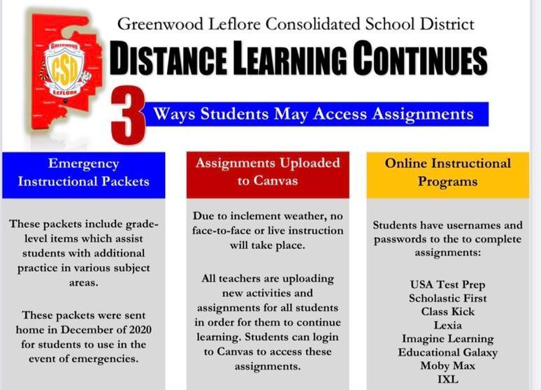 Distance Learning Continues- Primary and Elementary Schools Featured Photo
