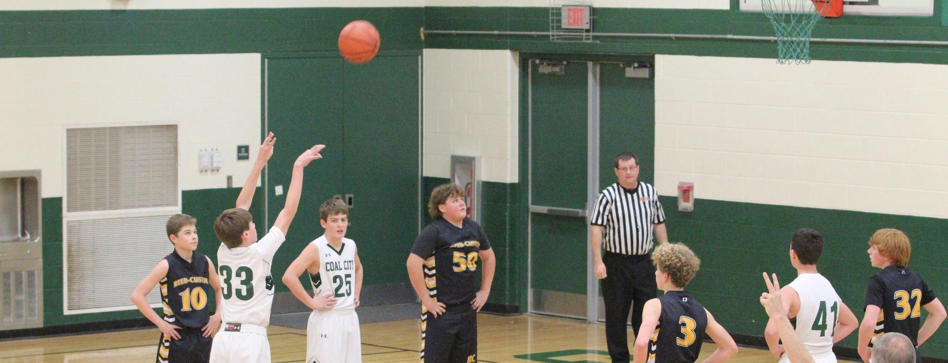Free throw Boys Basketball