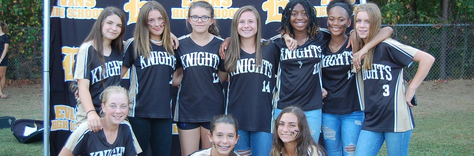 evans middle school girls sports