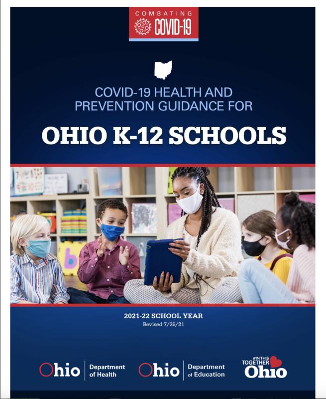 Ohio COVID-19 K-12 School Guidance Featured Photo