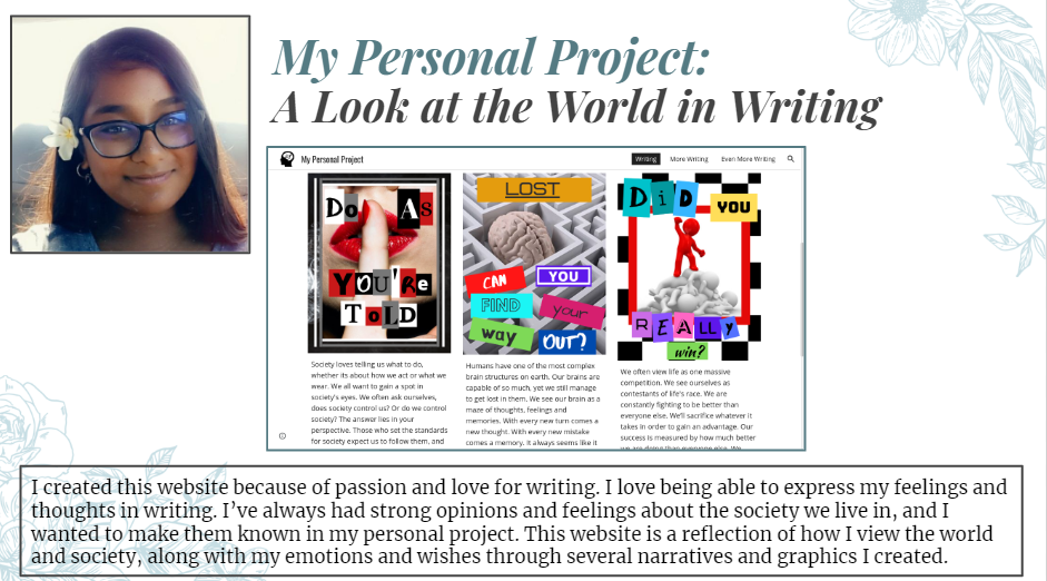 Amanda's Personal Project